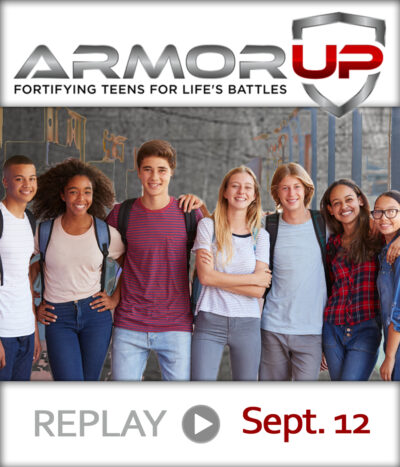 ARMOR UP – SEPTEMBER 12TH – REPLAY